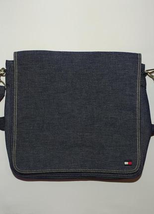 Tommy hilfiger оригинал сумка через плечо, для ноутбука