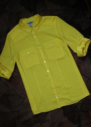 Блуза рубашка от h&m