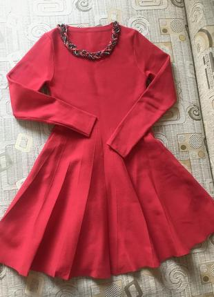 Дорогое бандажное платье
