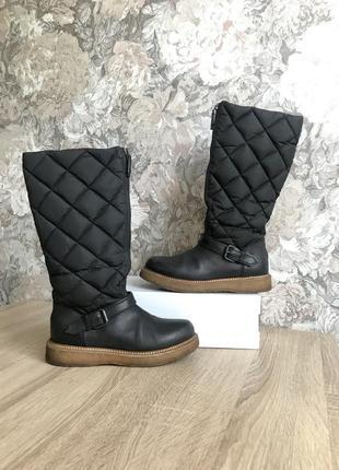 Moncler ориг 37 р италия чоботи сапоги сапожки ботинки