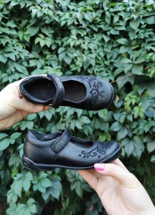 Кожаные качественные туфельки, 28.5е 19см, 180грн❤️