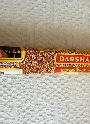 Аромапалочки благовония darshan gold сандал