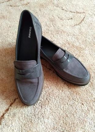 Мужские туфли лоферыgraceland