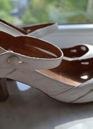 Кожаные туфли topshop