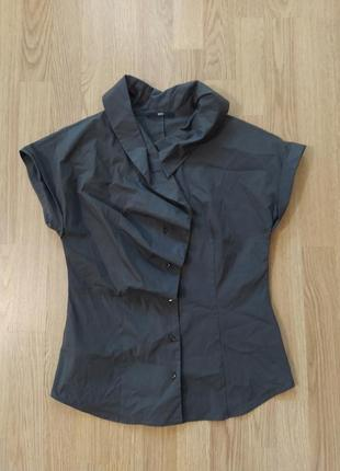Оригинальная блуза с укороченным рукавом hugo boss 😎🔥