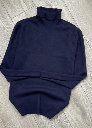 Шерстяной свитер водолазка ralph lauren