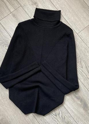Кофта свитер водолазка вискоза