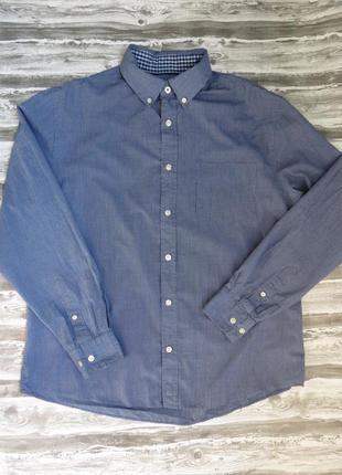 Рубашка мужская с длинным рукавом maine new england размер м 46-48