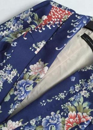 Милый цветочный пиджак zara