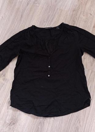 Блузка черного цвета / блузка  чорного кольору
