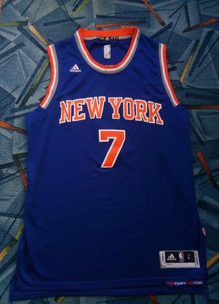 Баскетбольная майка adidas nba, new york