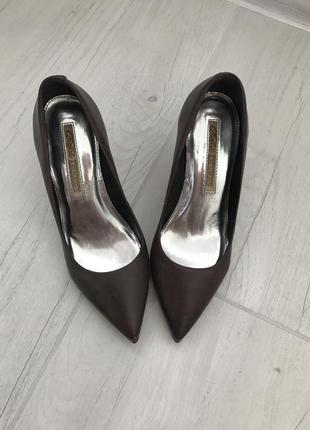 Кожаные туфли лодочки германия