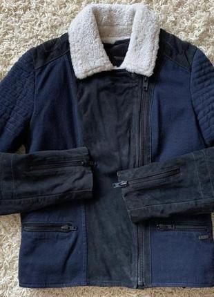 Maison scotch дубленка куртка косуха кожаная замшевая пальто бомбер ветровка пуховик