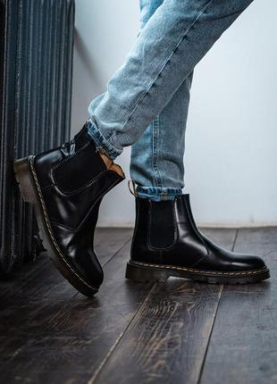 Черевики dr. martens1460 chelsea black ботинки