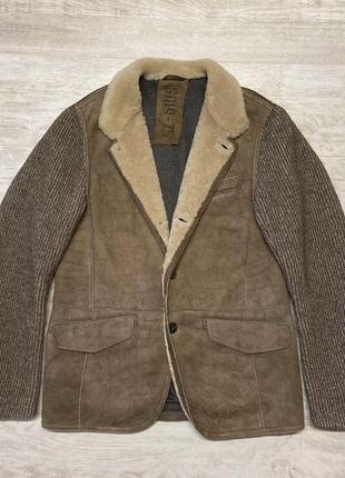Куртка дубленка из натуральной овчины gms - 75 (gimo's)