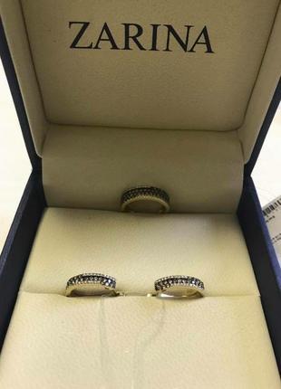 """Набор золото 585* серьги/кольцо с бриллиантами от юд """" zarina """""""