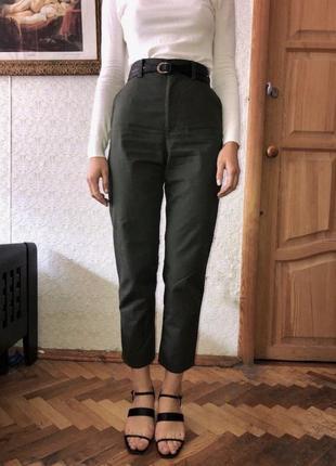 Cos штаны хаки оригинал высокая посадка