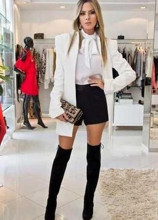 Очень крутые натуральные кожаные, замшевые шорты numph!