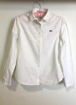 Рубашка из плотного котона lacoste live s оригинал