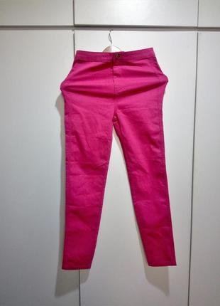 Xs-s р стильные штаны скинни jennyfer