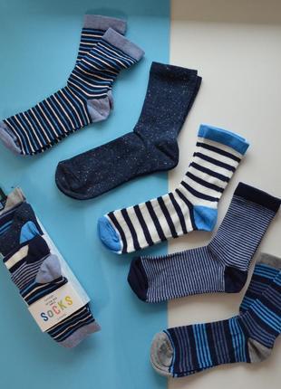 Набор 5 штук носки george англия 27-30 и 31-36