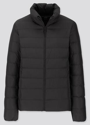 Женская ультра легкая пуховая куртка uniqlo ххл