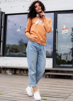 Женская худи florida оранжевая