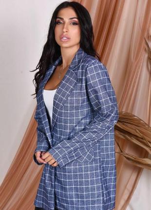 Модный пиджак две расцветки