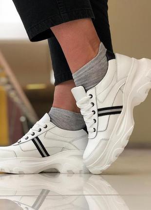 Кроссовки кожаные женские ™torsion. качественная обувь ™торсион.