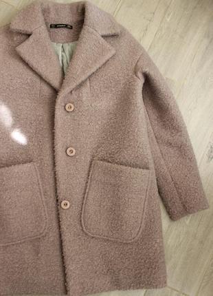 Пальто оверсайз шерсть