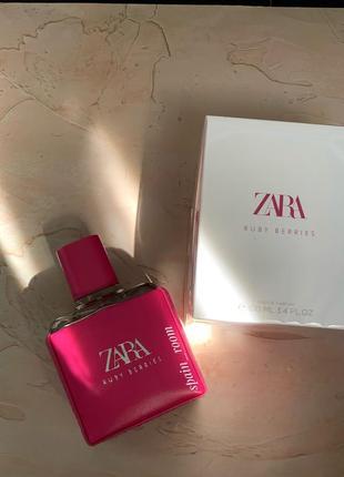 Духи  zara ruby berries/парфюм/туалетная вода/парфуми/духи зара2 фото