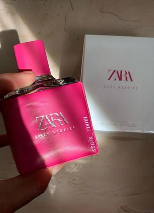 Духи  zara ruby berries/парфюм/туалетная вода/парфуми/духи зара3 фото