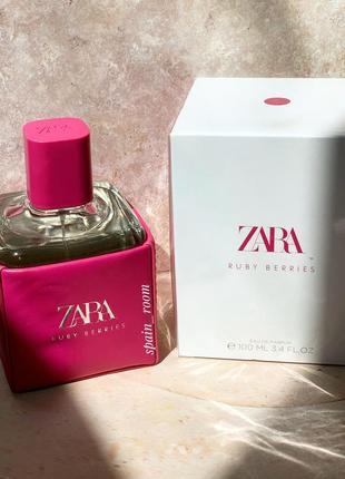 Духи  zara ruby berries/парфюм/туалетная вода/парфуми/духи зара
