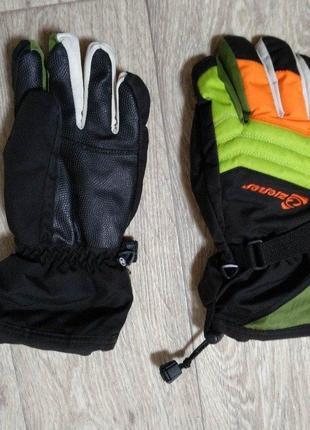 Перчатки лыжные xs gore-tex размер 5,5 ziener германия
