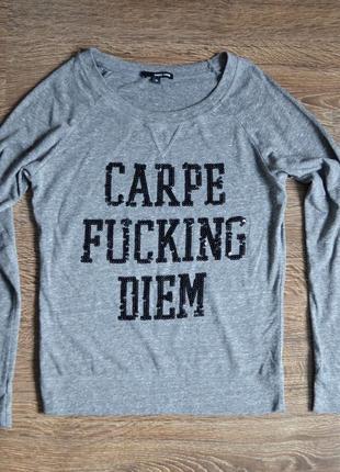 Свитшот новая коллекция tally weijl ® women's crew sweatshirt