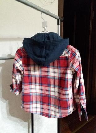 Рубашка с капюшоном оригинал
