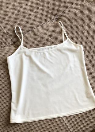 Женская шифоновая майка блузка