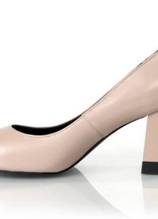 Туфли-лодочки из натуральной кожи