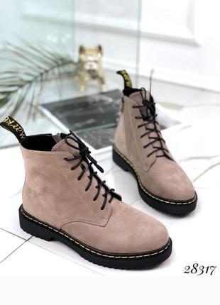 Зимние ботинки, крутые ботинки, сапоги, сапожки, хит сезона на шнуровке