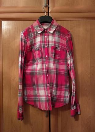 🔥 скидка 🔥 оригинальная хлопковая рубашка aeropostale
