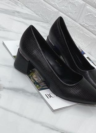 Туфли на удобном каблуке все размеры