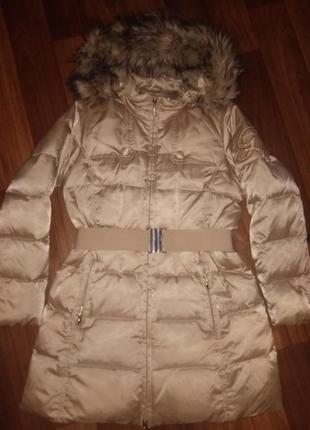 Пуховик пальто geox