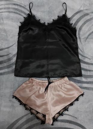Пижамка ( маечка , шортики и штаны )