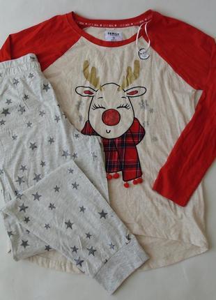 Пижама домашний костюм primark love to lounge-george англия м-л