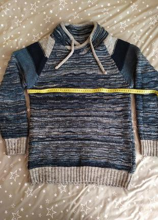 Теплый шерстяной свитер argos, размер s-m