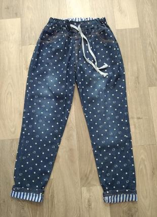 Джинсовые штаны. новые