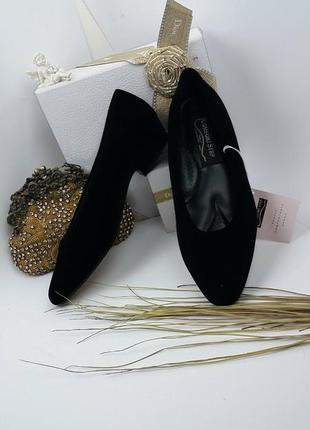 Туфли велюр очень комфортные/лодочки велюрові