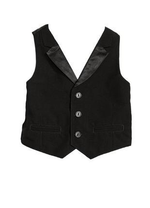 Жилет h&m 0424878001_jacket черного цвета