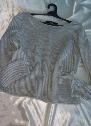 Красивый ребристый свитер от vero moda.