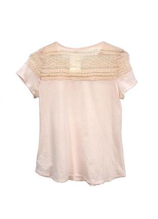 Блуза h&m 0429439002 бежевого цвета